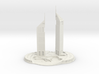 Jumeirah Emirates Towers (1:1800) 3d printed