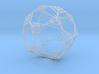 Sierpinski Wire Dodecahedron 3d printed