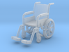 Wheelchair 01. 1:72 Scale 3d printed