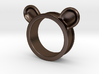 Bear ears ring size6 3d printed