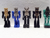 Diaclone Inchman Blue Star Limbs 3d printed Black S&F and Blue S&F limb options shown
