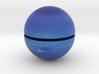 Neptune (Bifurcated) 1:250 million 3d printed