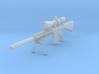 1/10th K11 bipod suppressor hunter scope 3d printed