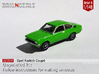 Opel Kadett Coupé (British N 1:148) 3d printed