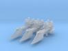 Sword Frigates (3) 3d printed