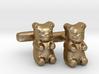 Gummy Bear Cufflinks 3d printed