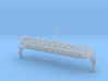 OO scale Lancaster Palace Upper Deck Open Unmodifi 3d printed Upper deck with trolley pole