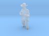 O Scale Shotgun Pete 3d printed This is a render not a picture
