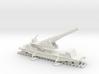 British  bl 9.2 MK13 1/200 railway artillery ww1 3d printed