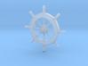 Pirate Ship Wheel Pendant 3d printed