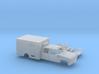 1/160 1990-98 Chevy Cheyenne CrewCab Ambulance Kit 3d printed