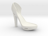 Right Leather-Strap High Heel 3d printed