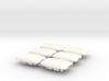 Pontiac Fiero Taillight Screw Cover Emblem 6-set 3d printed