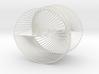 Half Inverted Cardioid Geometric 3D String Art V2 3d printed