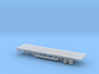 1/87 Scale Custom Skoda Flatbed Trailer 3d printed