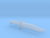 1/4th Scale Smith & Wesson Hunting Knife 3d printed