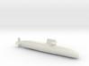 Oyashio-class submarine, Full Hull, 1/1800 3d printed