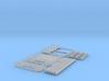N Scale Refinery Stairs+Railings 3d printed