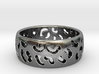 Leopard spot ring Multiple sizes 3d printed