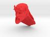 demon head 3 long hair 3d printed