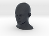 Female Head Charm 3d printed