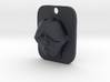 Personalised Man's Face Caricature Keyfob (004) 3d printed
