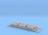 Maxi-Stack Inter-Modal Train Wagons (1:1250) 3d printed