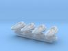 Theta Generic Medium Warship Squadron 3d printed