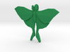 Luna Moth Pendant 3d printed