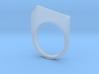 Ice Ridge Ring 3d printed