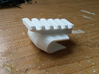 Front-Mounted Picatinny Rail For Skateboards 3d printed