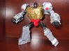Thigh-Extending Knees for PotP Grimlock 3d printed