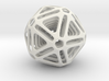 Nested Icosahedron 3d printed