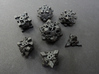 Intangle Dice Set with Decader 3d printed