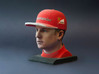 Kimi 1/4 Head Figure 3d printed