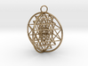 3D Sri Yantra 4 Sided Optimal 3d printed
