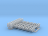 1/72 M2 Air Cooled Twin M2 MG Mount Set002 3d printed
