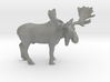 O Scale Moose 3d printed This is a render not a picture