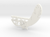 """""""Feather and 9 Stars"""" Collar Clip 3d printed"""