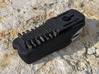 Leatherman Wave Holster, for Belt or PALS 3d printed Back side with bit holder and Molle clip