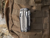Holster for Leatherman Charge+ TTI, Closed Loop 3d printed Attaches to PADDS/MOLLE webbing