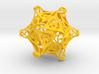 Icosahedron modified organic  3d printed