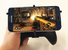 Xbox One S controller & Motorola Moto G6 - Over th 3d printed Xbox One S UtorCase - Over the top - In hand