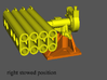1/20 PT Boat 5 inch Rocket Launcher Mark 50 rotate 3d printed