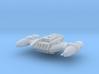 B-wing Strike Pirate  3d printed