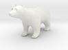 S Scale Polar Bear 3d printed This is a render not a picture