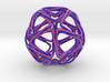 Icosahedron Looped 3d printed