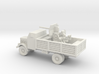 1/144 amored Opel Blitz with AA flak 3d printed