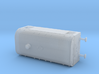 1/285th scale Armoured traincar, casemate 3d printed