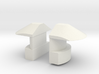1/16 DKM UBoot VIICNavigation light SET x2 3d printed